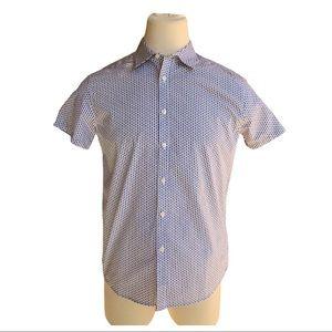 Reaction Kenneth Cole Short Sleeve Button Shirt